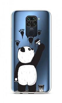 Zadní silikonový kryt na Xiaomi Redmi Note 9 Rebel Panda