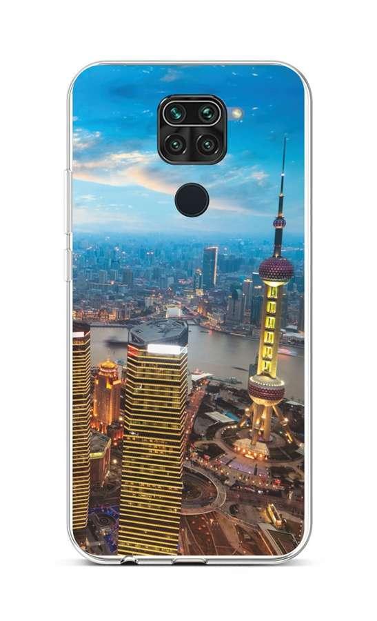Kryt TopQ Xiaomi Redmi Note 9 silikon City 52429 (pouzdro neboli obal na mobil Xiaomi Redmi Note 9)
