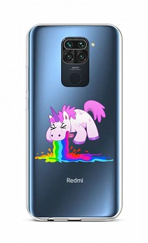 Zadní silikonový kryt na Xiaomi Redmi Note 9 Rainbow Splash