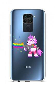 Zadní silikonový kryt na Xiaomi Redmi Note 9 Rainbow Gun