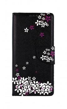 Knížkové pouzdro na Xiaomi Redmi 9C Květy sakury