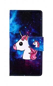 Knížkové pouzdro na Xiaomi Redmi 9C Space Unicorn