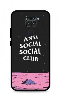 Zadní pevný kryt LUXURY na Xiaomi Redmi Note 9 Antisocial Club