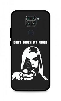 Zadní pevný kryt LUXURY na Xiaomi Redmi Note 9 Don't Touch Gun