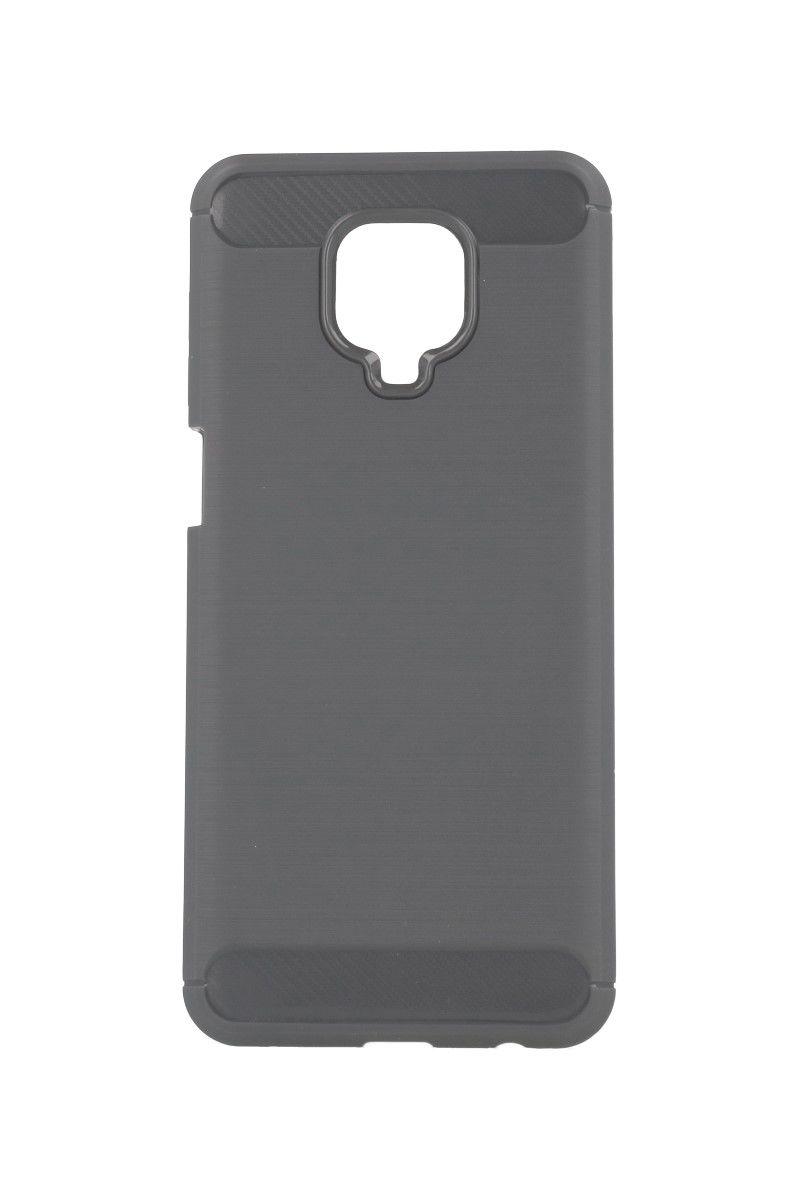 Zadní silikonový kryt na Xiaomi Redmi Note 9 Pro šedý