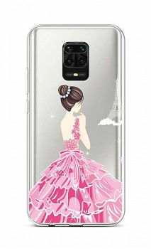 Zadní silikonový kryt na Xiaomi Redmi Note 9 Pro Pink Princess