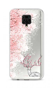 Zadní silikonový kryt na Xiaomi Redmi Note 9 Pro Blooming Deer