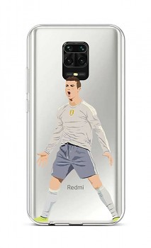 Zadní silikonový kryt na Xiaomi Redmi Note 9 Pro Fotbalista
