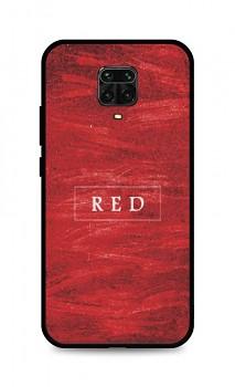 Zadní pevný kryt LUXURY na Xiaomi Redmi Note 9 Pro Red
