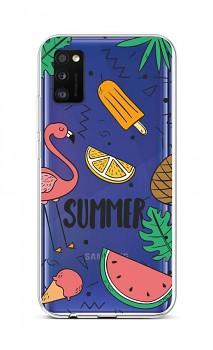 Zadní silikonový kryt na Samsung A41 Summer