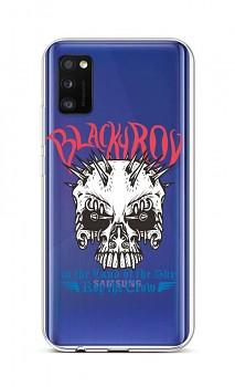 Zadní silikonový kryt na Samsung A41 Black Roy