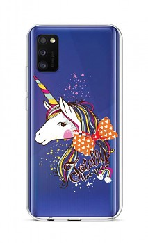 Zadní silikonový kryt na Samsung A41 Totally Uni-que