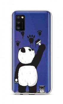 Zadní silikonový kryt na Samsung A41 Rebel Panda