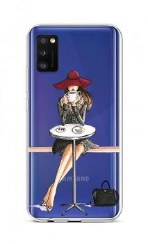 Zadní silikonový kryt na Samsung A41 Lady 6