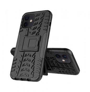 Ultra odolný zadní kryt na iPhone 12 černý
