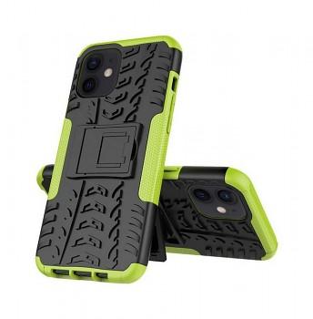 Ultra odolný zadní kryt na iPhone 12 zelený
