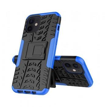 Ultra odolný zadní kryt na iPhone 12 modrý