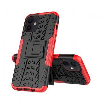 Ultra odolný zadní kryt na iPhone 12 červený