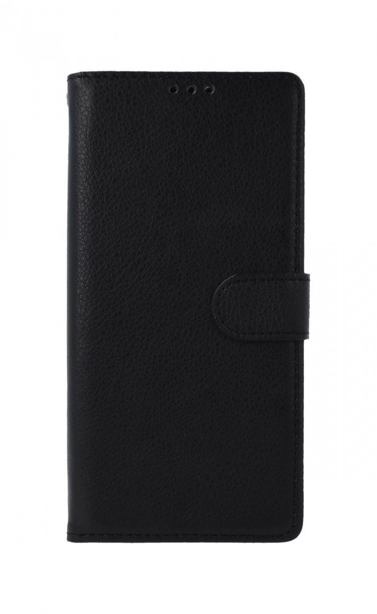 Knížkové pouzdro na Xiaomi Redmi 9C černé s přezkou