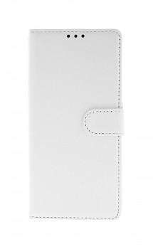 Knížkové pouzdro na Xiaomi Redmi 9C bílé s přezkou