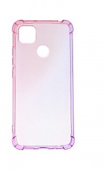 Zadní silikonový kryt na Xiaomi Redmi 9C Shock duhový růžovo-fialový