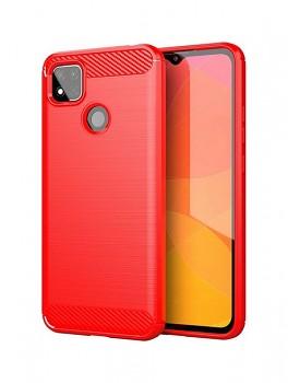 Zadní silikonový kryt na Xiaomi Redmi 9C červený