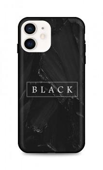 Zadní pevný kryt LUXURY na iPhone 12 Black