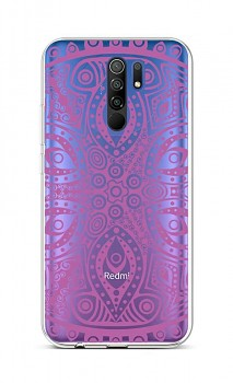 Zadní silikonový kryt na Xiaomi Redmi 9 Violet Mandala