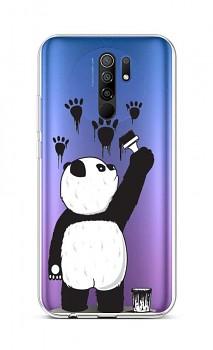 Zadní silikonový kryt na Xiaomi Redmi 9 Rebel Panda