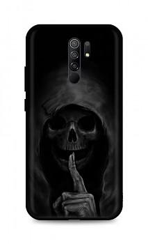 Zadní silikonový kryt DARK na Xiaomi Redmi 9 Dark Grim Reaper