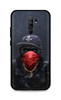 Zadní silikonový kryt DARK na Xiaomi Redmi 9 Monkey Gangster