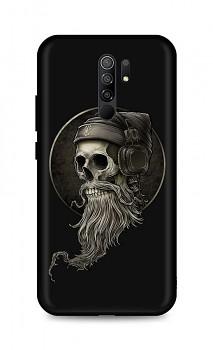 Zadní silikonový kryt DARK na Xiaomi Redmi 9 Music Skeleton