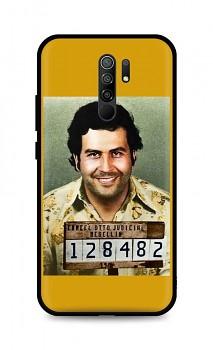 Zadní silikonový kryt DARK na Xiaomi Redmi 9 Pablo Escobar