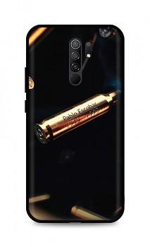 Zadní silikonový kryt DARK na Xiaomi Redmi 9 Pablo Escobar Bullet