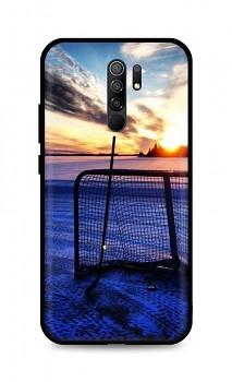Zadní silikonový kryt DARK na Xiaomi Redmi 9 Hockey Sunset