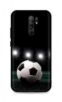 Zadní silikonový kryt DARK na Xiaomi Redmi 9 Football