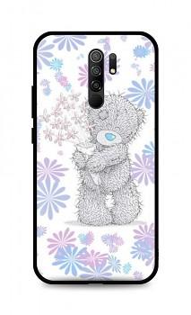 Zadní silikonový kryt DARK na Xiaomi Redmi 9 Floral Teddy