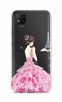 Zadní silikonový kryt na Xiaomi Redmi 9C Pink Princess