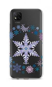 Zadní silikonový kryt na Xiaomi Redmi 9C Snowflake