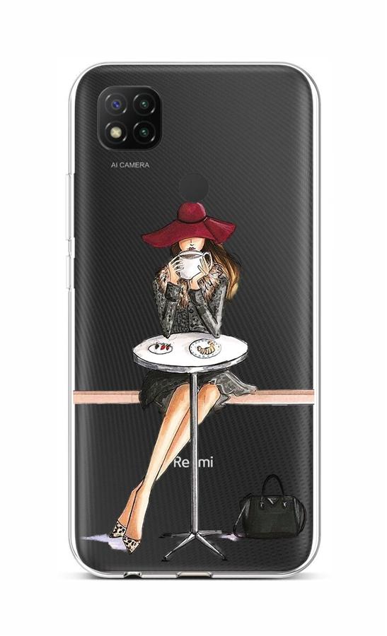 Kryt TopQ Xiaomi Redmi 9C silikon Lady 6 53052 (pouzdro neboli obal na mobil Xiaomi Redmi 9C)