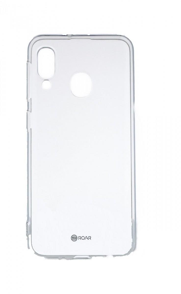 Kryt Roar Samsung A20e silikon průhledný 53080 (pouzdro neboli obal na mobil Samsung A20e)
