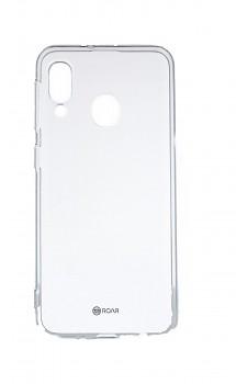 Zadní silikonový kryt Roar na Samsung A20e průhledný