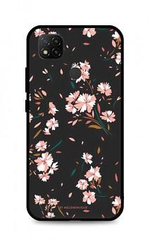 Zadní pevný kryt LUXURY na Xiaomi Redmi 9C Cherry Blossom