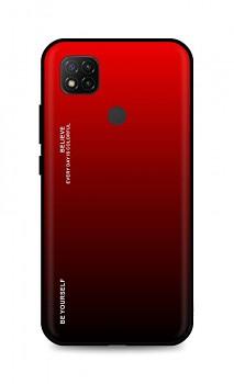 Zadní pevný kryt LUXURY na Xiaomi Redmi 9C duhový červený