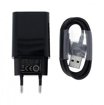 Originální nabíječka Xiaomi MDY-08-DF + micro USB datový kabel černá 2A