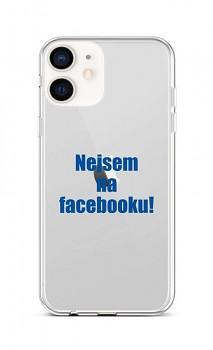 Zadní silikonový kryt na iPhone 12 mini Nejsem na Facebooku