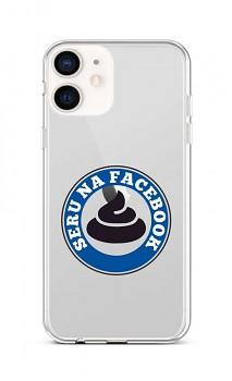 Zadní silikonový kryt na iPhone 12 mini Facebook