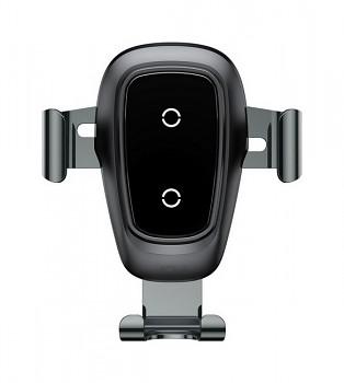 Držák na mobil s funkcí bezdrátového nabíjení Baseus Gravity (WXYL-B0A) černý