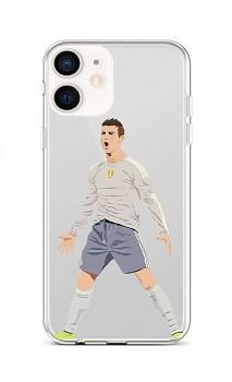 Zadní silikonový kryt na iPhone 12 mini Fotbalista