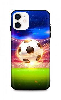 Zadní silikonový kryt DARK na iPhone 12 mini Football Dream